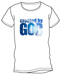 created by God shirt