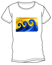 Shining Waves Shirt