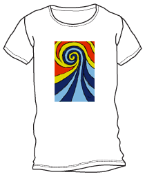 Wave Art 4 shirt