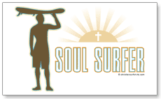 Soul Surfer sticker